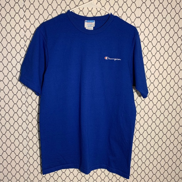 ebacd3d3 Champion Shirts | Uo Vintage Royal Blue Shirt | Poshmark